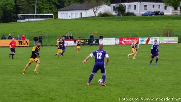 Fußball  USV vs Schalchen
