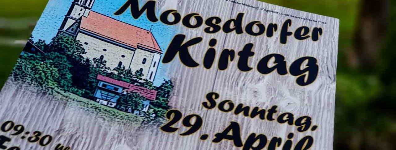 Nicht vergessen: Kirtag, 29.April!